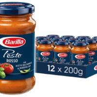 Barilla rotes Pesto Rosso 12er Pack 12x200 g  Amazon.de Lebensmittel  Getraenke 2021 06 29