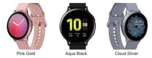 Galaxy Watch Active 2 Farben