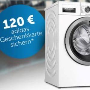 🧺💸 Bosch Waschmaschinen & Trockner + Adidas Geschenkkarten bei Media Markt