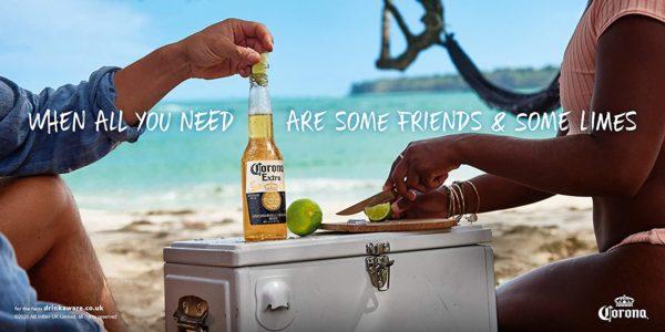 Corona Extra   Bier Coolbox   Kuehltruhe mit 12 Flaschen