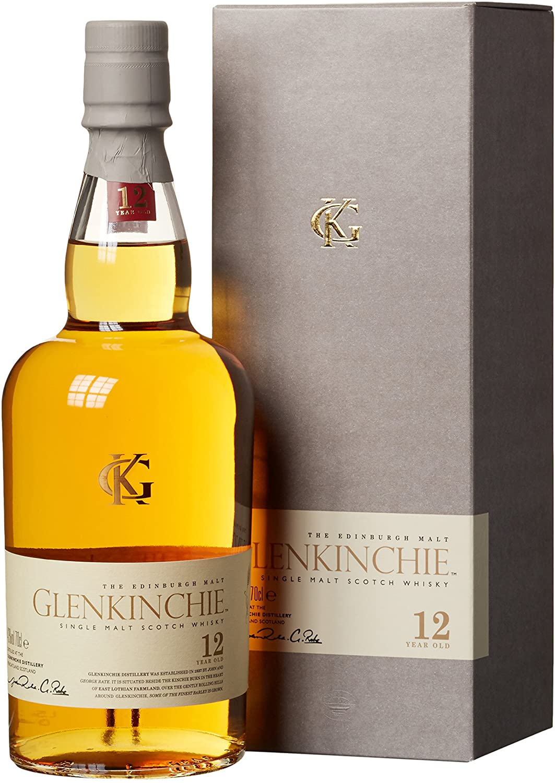Glenkinchie 12 Jahre Single Malt Scotch Whisky 1 x 0.7 l
