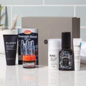 Glossybox 🧔🧴 Limited Edition Men Box mit 10 Produkten für Herren
