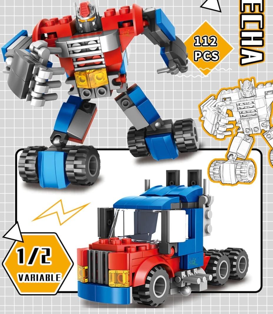 HUIQIBAO 4in1 444PCS Klemmformer  auto transformer verwandlung
