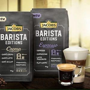 Jacobs Kaffeebohnen Barista Editions Crema 1 kg Bohnenkaffee Amazon.de Grocery 2021 06 21