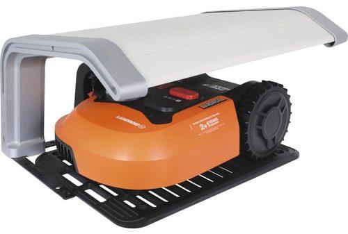 Maehroboter WORX Landroid M500 WR141E inkl. Garage e1624957398929