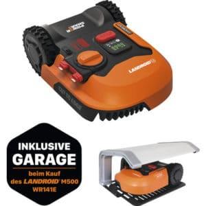 Maehroboter WORX Landroid M500 WR141E inkl. Garage WA0194