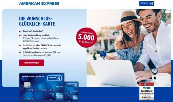 Payback American Express