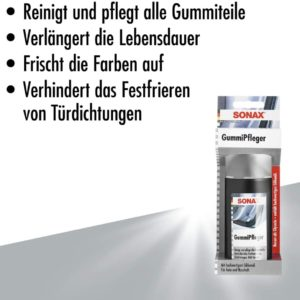 Sonax GummiPfleger mit Schwammapplikator 1
