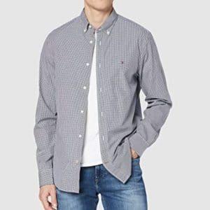Tommy Hilfiger Herren Core Check Shirt Freizeithemd