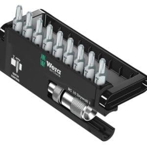 Wera Bit-Sortiment, Bit-Check 10 Drywall 1, 10-teilig, 05136011001