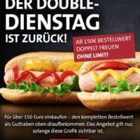 double dienstag