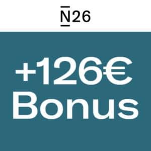 [Endet HEUTE⏳] Fette 126€ für kostenloses N26-Girokonto + 6 Monate Prime GRATIS