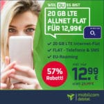 [Nur noch Heute!] o2 Free M 🔵 Allnet-Flat + 20GB LTE mit 225 Mbit/s (keine AG!)