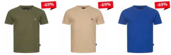19V69 Versace 1969 Basic Logo Herren T-Shirt