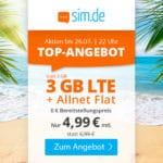 😲💥Flexible o2 3GB LTE Allnet Flat für 4,99€ // 6GB für 7,99€