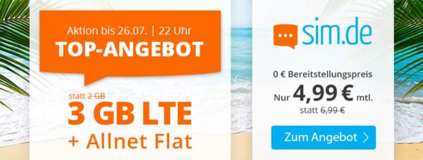 20210719 simde NL Top Angebot 3GB 4 99 Meer 845x321px
