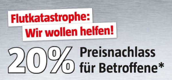 Bauhaus Fluthilfe