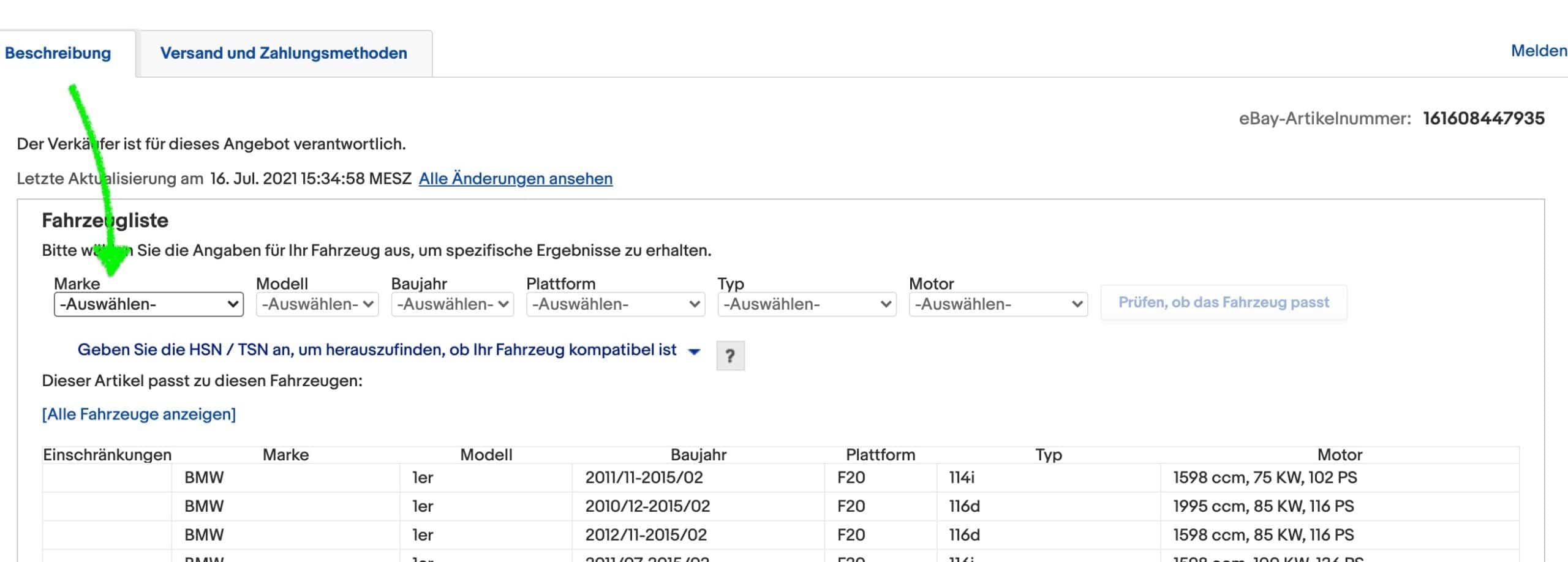 Bosch AeroTwin Scheibenwischer Ebay Typencheck scaled