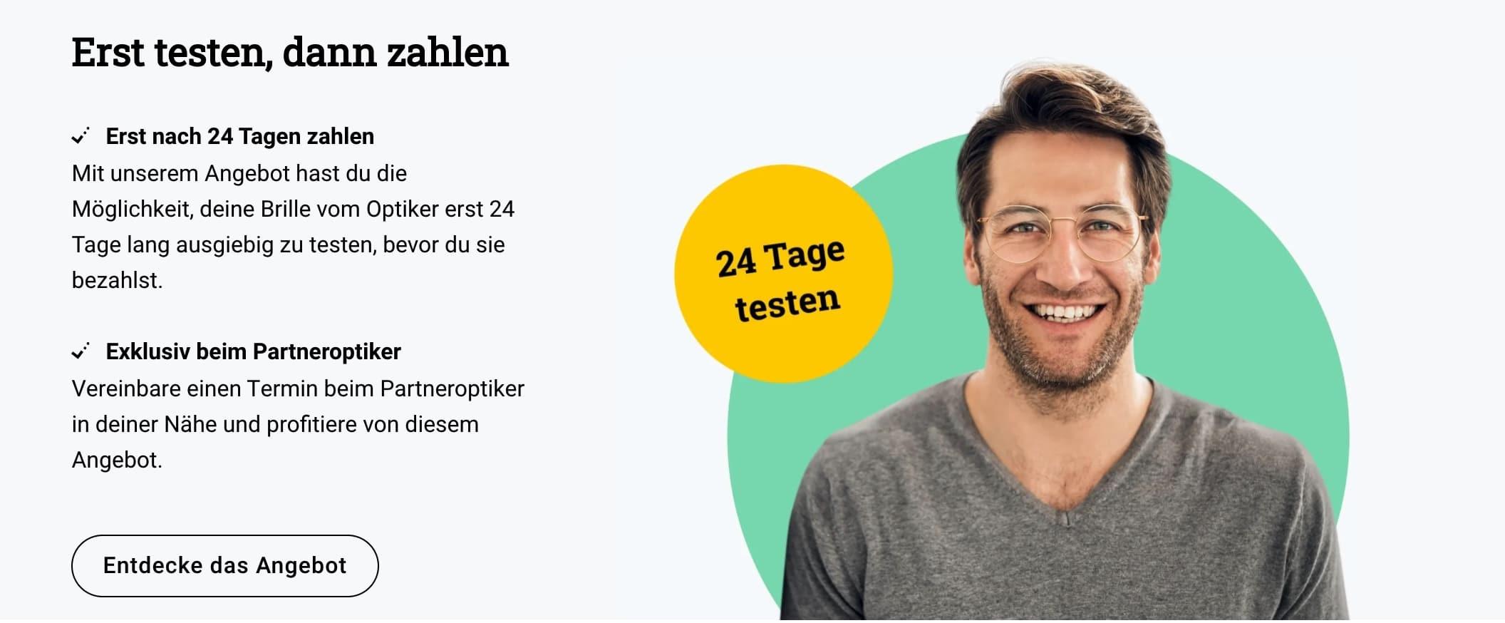 Brille24 Optikertermin