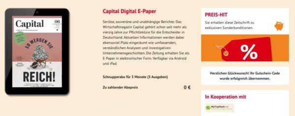Capital Digital E-Paper gratis