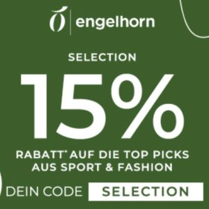 Eterna, Olymp & mehr 👔 15% Gutschein auf Fashion- & Sport-Mode bei Engelhorn