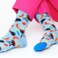 Grill Socken von Happy Socks