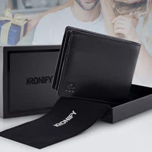 Herren Geldboerse aus Rindsleder mit RFID Schutz 1