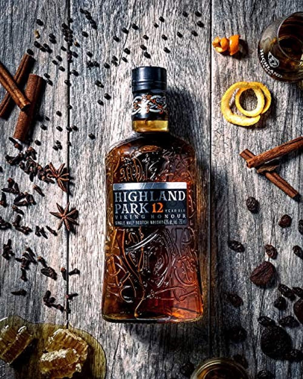 Highland Park 12 Jahre Viking Honour Single Malt Scotch Whisky 1 x 0.7 l