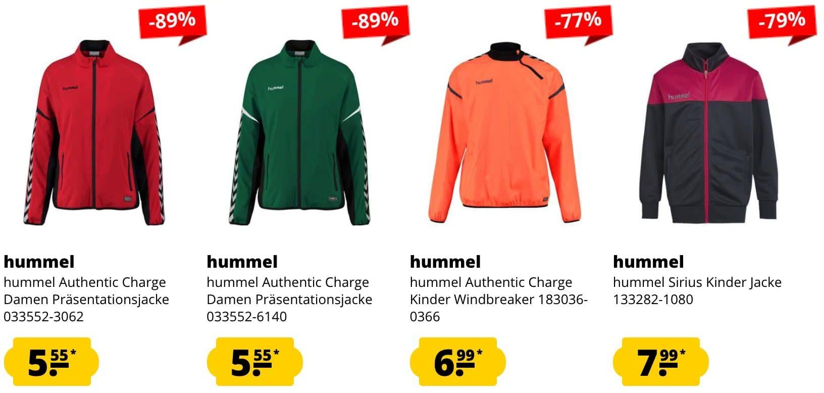 Hummel Praesentationsjacken sportspar  e1628076934356