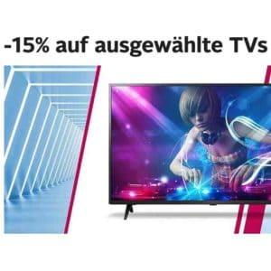 📺 15% Gutschein auf über 100 TVs (von LG, Samsung, Sony & mehr) bei Otto.de