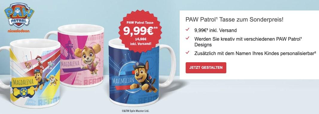PAW Patrol Fotogeschenke fuer Kinder mit Namen personalisiert  RTL Fotoservice 2021 07 15