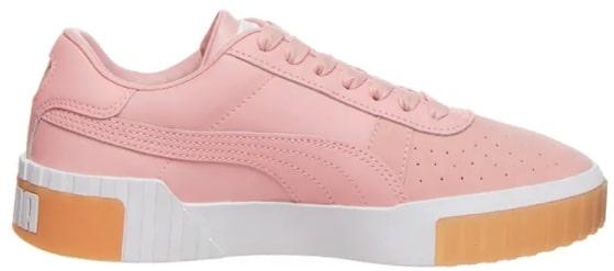 Puma Leder-Sneakers Cali Exotic in Rosa