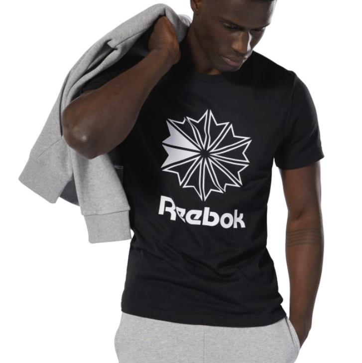 Reebok Classics Big Logo T Shirt   Schwarz  Reebok Deutschland 2021 08 18