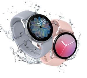 Samsung Galaxy Watch Active2 Fitnesstracker aus Aluminium grosses Display ausdauernder Akku wassergeschuetzt 40 mm Bluetoot 2021 08 05