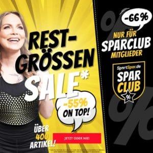 SportSpar Sale mit 55% Rabatt 🎉 Boxershorts 2er-Pack für 4,50€ & mehr