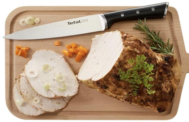 Tefal Ice Force K23207 Fleisch  und Schinkenmesser  20cm  Handschutz  Edelstahl  Schwarz  Amazon.de Kueche Haushalt  Woh 2021 07 26