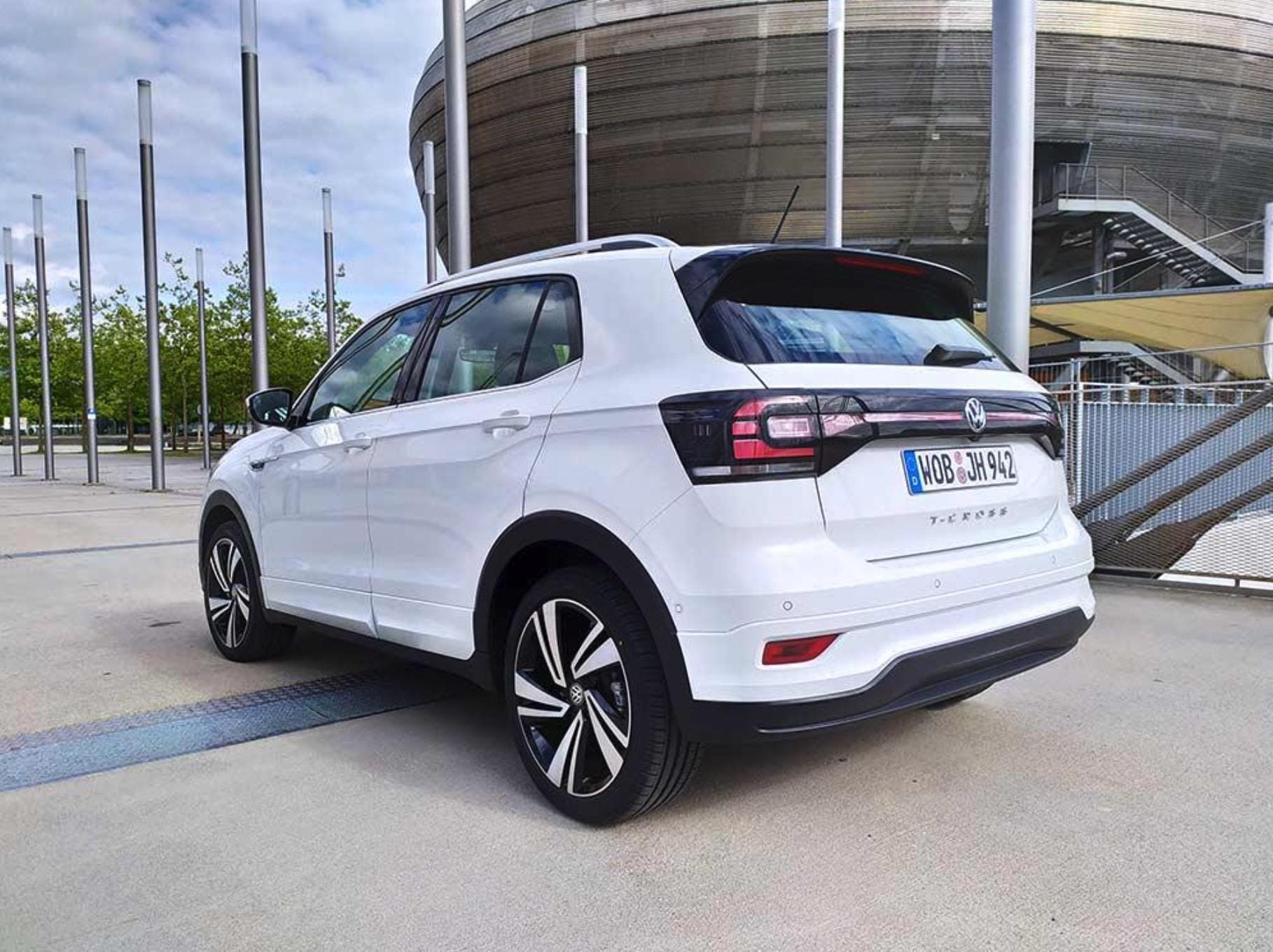 VW T Cross 1.0 Style Leasingmarkt Privatleasing hinten