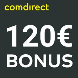 [TOP] 🤑 Fette 120€ Prämie für kostenloses comdirect Depot (schufa-frei)