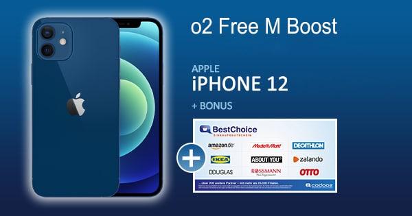 o2 free m boost apple iphone 12