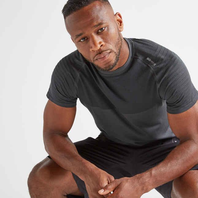 t shirt fts 900 fitness cardio herren dunkelgrau