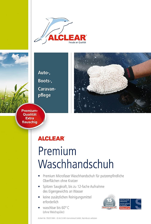 ALCLEAR Mikrofaser Handschuh details