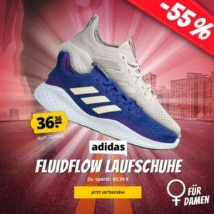 Adidas Fluidflow Damen Laufschuhe in 2 Farben