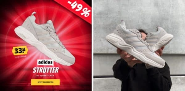 Adidas Strutter Herren Sneaker beige
