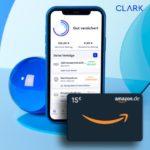 [Letzt Chance!] 🤑 15€ Sofort-Bonus in 5 Minuten für CLARK-Versicherungs-App (Bedarfscheck)