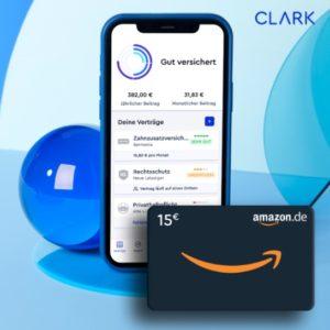 In 5 Minuten 🤑 15€ Sofort-Bonus für CLARK-Versicherungs-App (Bedarfscheck)