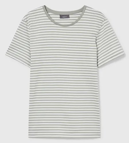 Damen T-Shirt gestreift bei C und A