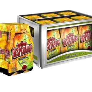 Desperados Original MEHRWEG Flasche  6 x 4 x 0.33 l im Kasten