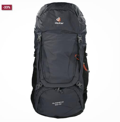 Deuter Trekkingrucksack 22Alpamayo 551022 gepolstert Bauchgurt Taschen dunkelgrau OneSize  GALERIA Karstadt Kaufhof 2021 08 17