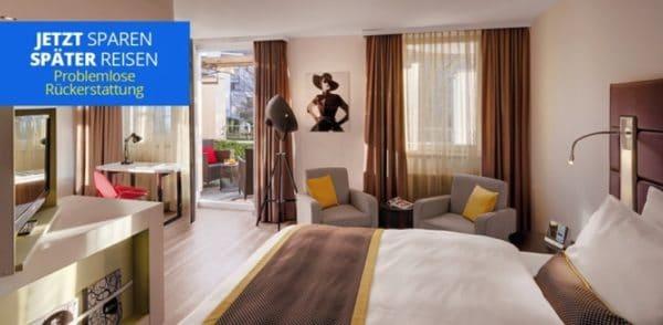 Düsseldorf ÜF im zentralen 4-Sterne-Hotel zu zweit für 89€
