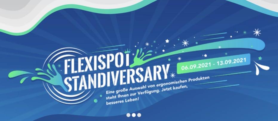 FlexiSpot Standiversary 2021 09 06